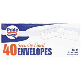 36 Bulk Pride Security Envelope 40ct 4 1/8 X 9 1/2 Inches