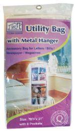 24 Wholesale Utlity Bag 10.75 X 27in 8-Pocke