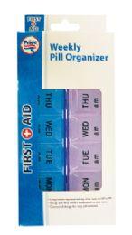 36 Bulk Weekly Pill Organizer 7 X 3.5 Inch Am/pm