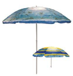 12 Wholesale Beach Umbrella 81 Inch Tropical Designs