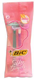 36 Units of Bic Razor 2 Pack Silky Touch - Shaving Razors