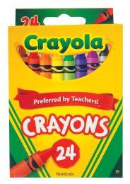 48 Units of Crayola Crayons 24 Count - Chalk,Chalkboards,Crayons