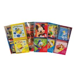 96 Bulk Licensed Note Cards Set 9 PC-4 Cards/ Envelopes And 1 Gel Pen
