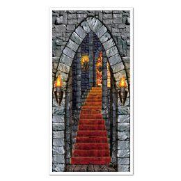 12 Units of Castle Entrance Door Cover Indoor & Outdoor Use - Photo Prop Accessories & Door Cover