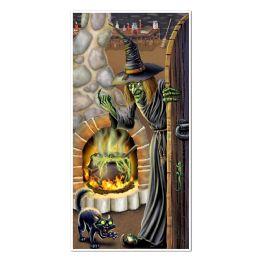 12 Units of Witch's Brew Door Cover Indoor & Outdoor Use - Photo Prop Accessories & Door Cover