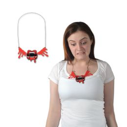 12 of Bloody Fangs Necklace