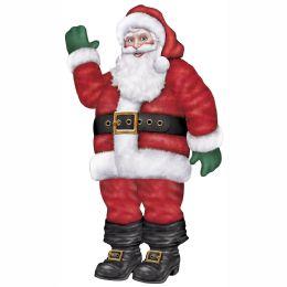 12 Bulk Jointed Santa