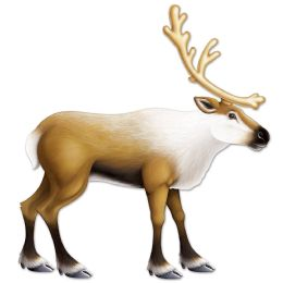 12 Units of Jointed Reindeer - Bulk Toys & Party Favors