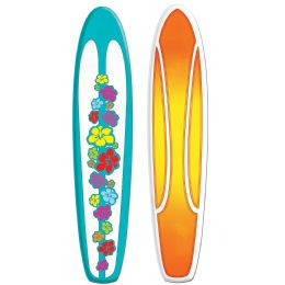 12 Bulk Jointed Surfboard Prtd 2 Sides W/different Designs