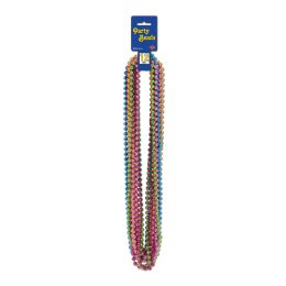 12 of Party Beads - Small Round Asstd Colors