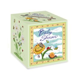 6 Units of Baby Shower Card Box Assembly Required - Baby Shower
