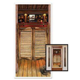 12 Units of Saloon Door Cover Indoor & Outdoor Use - Photo Prop Accessories & Door Cover