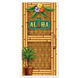 12 Units of Aloha Door Cover Indoor & Outdoor Use - Photo Prop Accessories & Door Cover