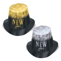 25 Wholesale New Year Lights HI-Hats One Size Fits Most