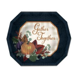 12 Wholesale Fall Thanksgiving Dessert Plates Not Microwave Safe