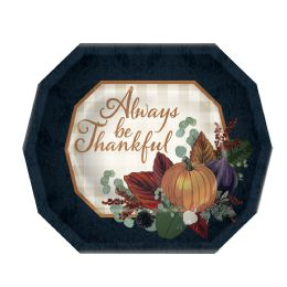 12 Wholesale Fall Thanksgiving Dinner Plates Not Microwave Safe