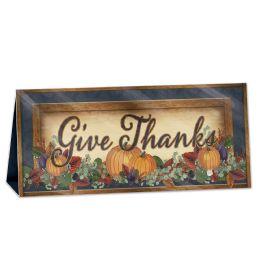12 Wholesale 3-D Foil Fall Thanksgiving Centerpiece Foil 1 Side; Prtd 2 Sides
