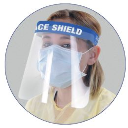 50 Wholesale Deluxe Face Shield - Stitched
