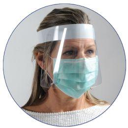 50 Wholesale Plastic Face Shield