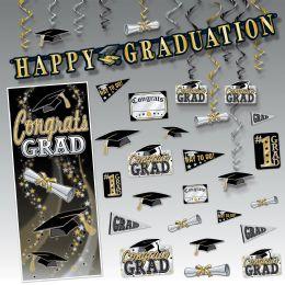 Wholesale Graduation Party Kit Piece Count: 34