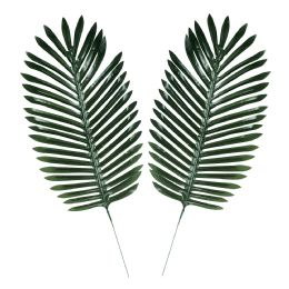 6 Wholesale Fabric Fern Palm Leaves Polyester