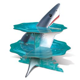 12 Wholesale Shark Cupcake Stand Assembly Required
