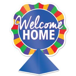 12 Wholesale 3-D Foil Welcome Home Centerpiece Assembly Required