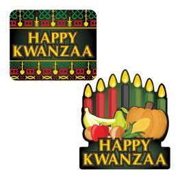 12 Wholesale Happy Kwanzaa Signs
