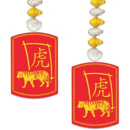 12 Wholesale 2022 Year Of The Tiger Danglers