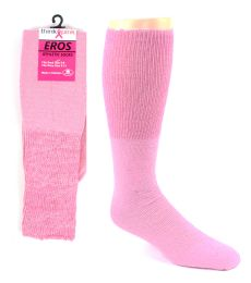 48 of Pink Football Socks For 3787 - Kid's Size 6-8