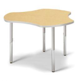 "Berries Collaborative Hub Table - 44"" X 47"" - Maple/gray - Berries"