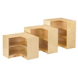 JontI-Craft Low Inside Corner Storage - Storage