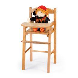 JontI-Craft Traditional Doll High Chair - Dramatic Play