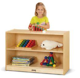 JontI-Craft Short Fixed StraighT-Shelf Bookcase - Storage