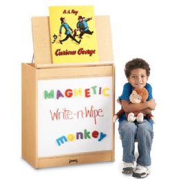 Maplewave Big Book Easel - Magnetic WritE-N-Wipe - Literacy