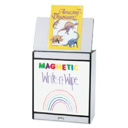 Rainbow Accents Big Book Easel - Magnetic WritE-N-Wipe - Black - Literacy