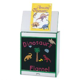 Rainbow Accents Big Book Easel - Flannel - Purple - Literacy