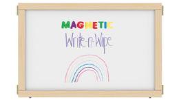 "Kydz Suite Panel - T-Height - 36"" Wide - Magnetic WritE-N-Wipe - KYDZ Suite"