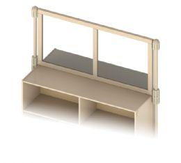 Wholesale Kydz Suite Upper Deck Divider - Mirror