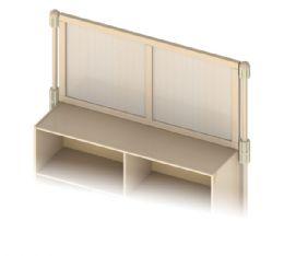 Wholesale Kydz Suite Upper Deck Divider - Plywood