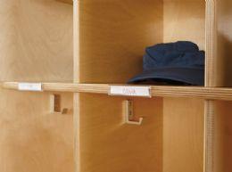 Wholesale JontI-Craft Name Tag Holders - 5 Pack