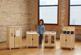 Wholesale Truemodern Play Kitchen 4 Piece Set