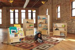 Wholesale Truemodern FouR-Shelf Bookcase