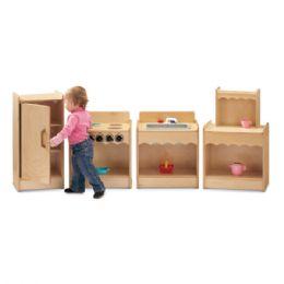 JontI-Craft Toddler Contempo Kitchen 4 Piece Set - Dramatic Play