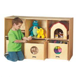 Wholesale JontI-Craft SeE-N-Wheel Shelf With Bins
