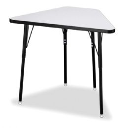 Wholesale Berries Tall Trapezoid Desk - Gray/black/all Black