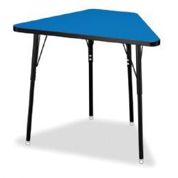 Wholesale Berries Tall Trapezoid Desk - Blue/black/all Black