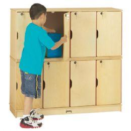 Wholesale JontI-Craft Stacking Lockable Lockers - Double Stack