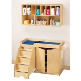 JontI-Craft Changing Table - With Stairs - Left - Toddlers Infants