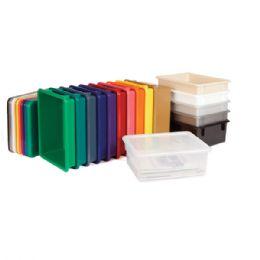 JontI-Craft PapeR-Trays & Tubs Lid - Red - Art